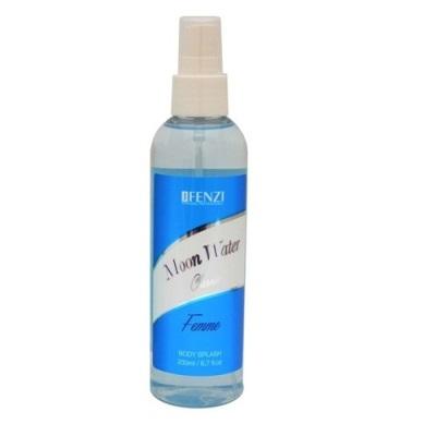 JFenzi Moon Water Classic telový sprej dámsky 200 ml (Alternatíva vône Davidoff - Cool Water )