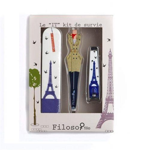 FILOSOFILLE PARIS manikúra 3 set