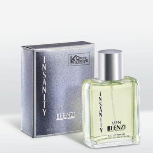 JFenzi Insanity Man parfumovaná voda pánska 100 ml