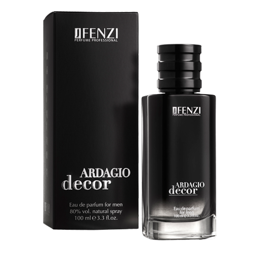 Jfenzi Ardagio Decor parfumovaná voda pánska 100 ml (Alternatíva vône Armani - Code)