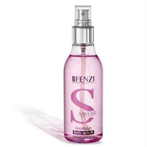 JFenzi Savoir Brillant telový sprej dámsky 200 ml (Alternatíva vôna Versace - Bright Crystal)