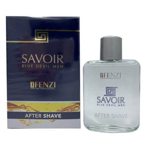 JFenzi Savoir Blue Devil voda po holení 100 ml (Alternatíva vône Versace - Dylan Blue)