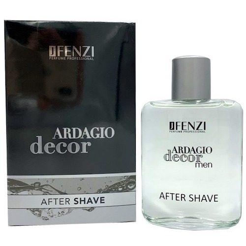 JFenzi Ardagio Decor voda po holení 100 ml (Alternatíva vône Armani - Code)